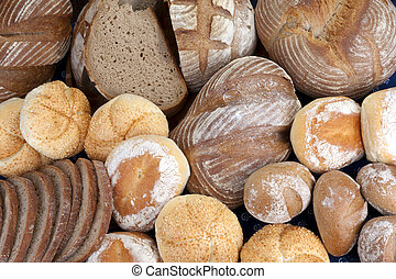 Bread, buns - bakery products