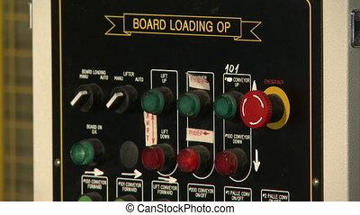 View of board loading OP