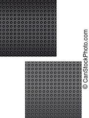 Carbon or fiber pattern
