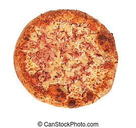 Hawaiian whole pizza - hawaiian whole pizza
