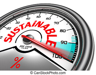 sustainable conceptual meter