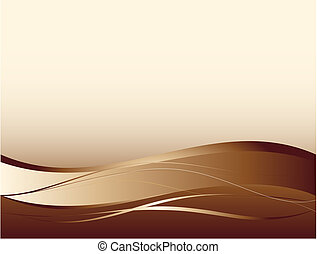 Background with abstract smooth lines and waves