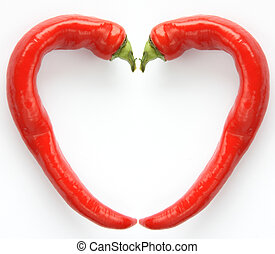 Red chilly peppers