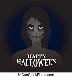 In The Dark,Concept For Halloween