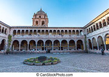 Church of Santo Domingo, Coricancha,Cusco, Peru,South...