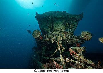 tank wagon on the Thistlegorm - Wreck Thistlegorm 1941