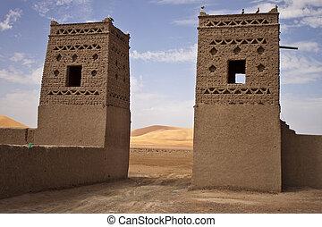 Kasbah in Morocco