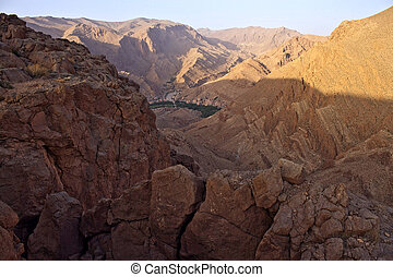 View of Todra Gorges, Morocco