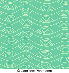 Abstract doodle seamless - Abstract vector seamless pattern...