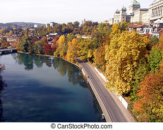 Autumn in Bern, Switzerland