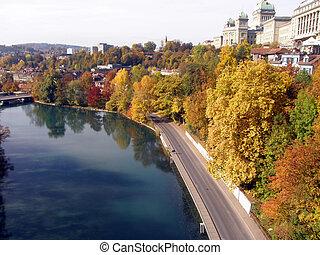 Autumn in Bern, Switzerland