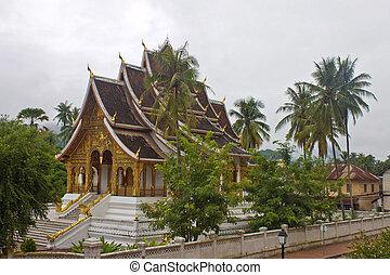 Temple in Luang Prabang, Laos