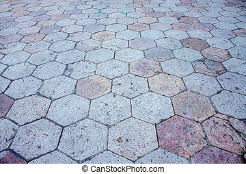 Background of a pavement