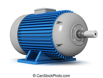 Industrial electric motor - Creative manufacturing and heavy...