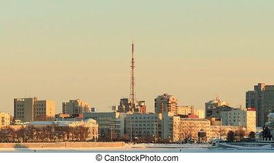 Around the TV tower. Russia, Yekaterinburg