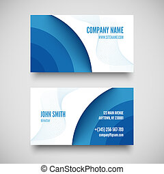 Vector business card set , elements for design vector...
