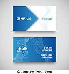 Vector business card set , elements for design.