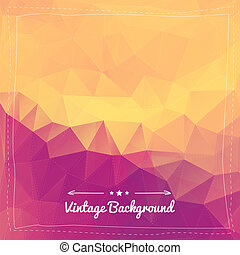 Abstract vintage background for design