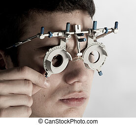 optometrist exam