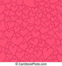 Valentine seamless pattern - Eps 10 vector valentine...