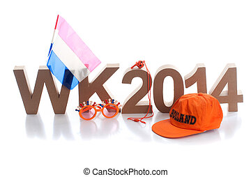 Dutch fanstuff - The world championship in Brazil, fanstuff...