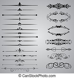 Dividers - Set of twenty two Dividers for your designs