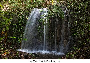 Small waterfall in Laos