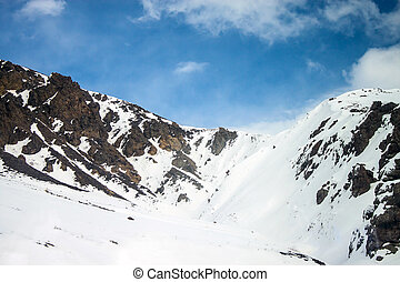 Snow covered mountains in eastern Turkey (Februar 20, 2013)