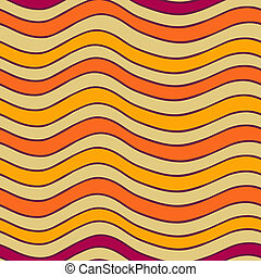 Abstract vector seamless pattern - Abstract vector stripy...