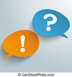 Bevel Speech Bubbles Communication Problem - Infographic...