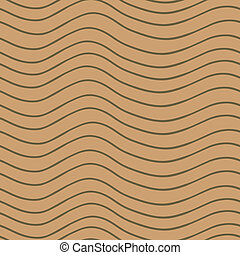Stylized wood texture - Eps 10 vector stripy seamless...