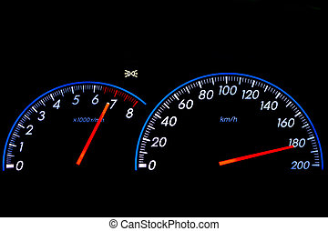 speedometer is equipment in the vehicle for monitor speed...