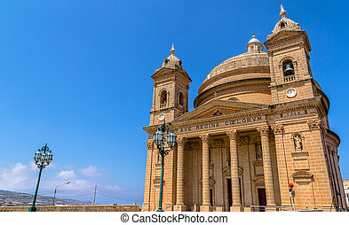 Mgarr Church in Malta - Mgarr church in the republic of...