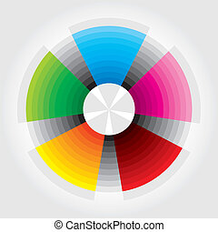 Presentation template - Color Wheel - Presentation template...