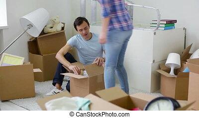 Happy unpackers
