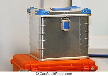 Aluminium box - Heavy duty waterproof aluminium strong box