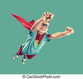 Little Superhero - A little superhero ready to save the...