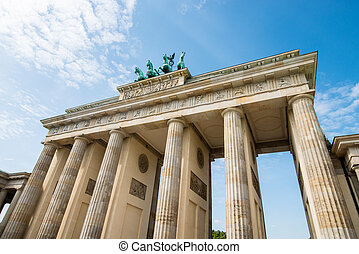 Brandenburg Gate in Berlin - Brandenburg in Berlin, capital...
