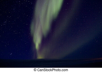 Aurora Borealis over the Bay 010