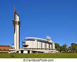 Sanctuary of Divine Mercy in Krakow, Poland - Sanctuary of...