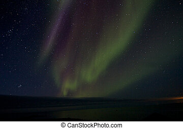 Aurora Borealis over the Bay 012