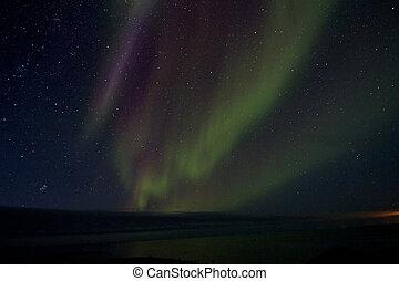 Aurora Borealis over the Bay 012