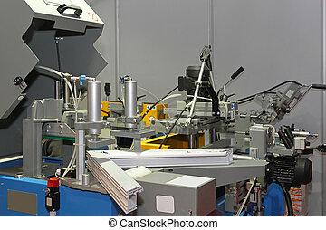 Windows manufacturing - PVC windows manufacturing machine in...