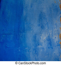 Blue grunge texture - A Grunge blue fabric pattern and...