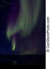 Aurora Borealis over the Bay 015