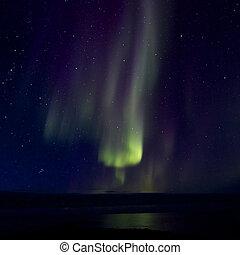 Aurora Borealis over the Bay 016