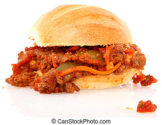 Sloppy Joe Homemade - Homemade ground sirlion sloppy Joe...