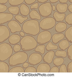 Stones seamless pattern - Eps 10 vector seamless pattern...