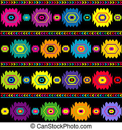 Colorful ethnic background, traditional texture