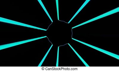 Abstract Laser effect